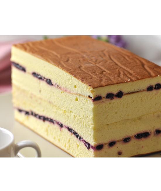 薰緻‧藍莓輕乳酪蛋糕